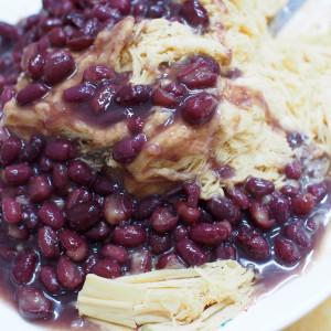 【台湾】台湾式のフワフワかき氷はピーナッツ味がうまいの画像