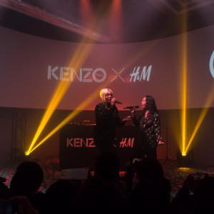 KENZO x H&M コラボレーションイベントの画像