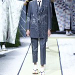 Thome Browne Mens SS 2016 Show.の画像