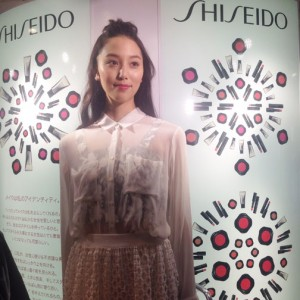 Shiseido make-up show.の画像