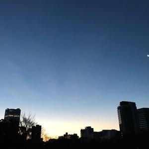AMATA15周年。。。夜明けの月の美しさ☾の画像