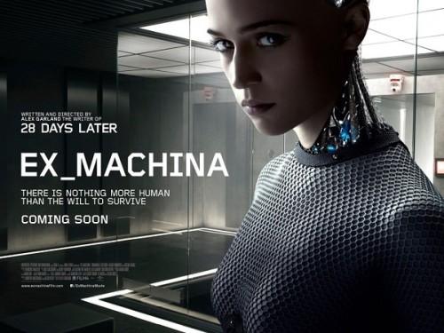 SF映画 EX_MACHINA (エクス・マキナ)予告編の画像