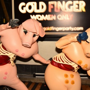 GOLDFINGER Halloween×saeborgの画像