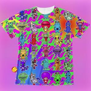 怪獣芸術家ピコピコ×Tシャツの画像