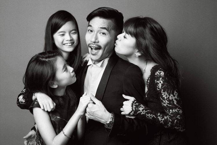 中林美和の家族写真画像