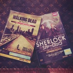 THE WALKING DEAD&SHERLOCKの画像