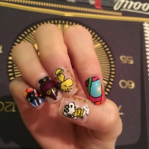 new nail art♡KAWSの画像