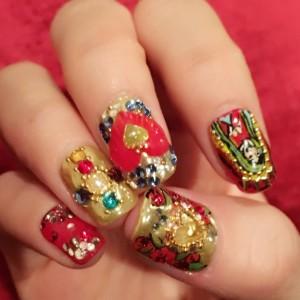 new nail art♡Dolce&Gabbanaの画像