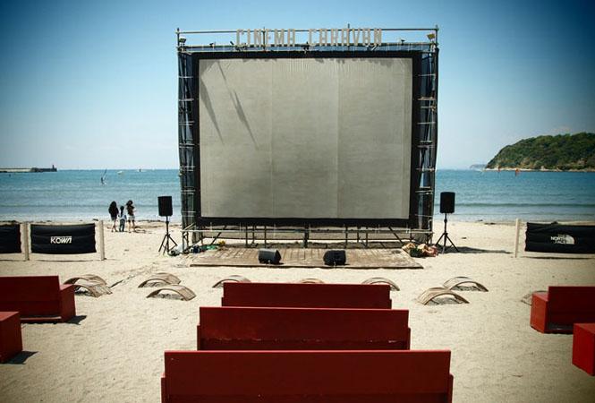 第3回逗子海岸映画祭「海の映画館」 ~GWは逗子海岸へ行こう~