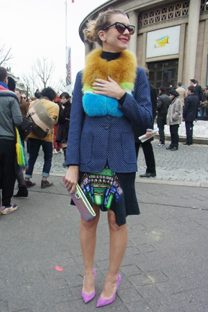パリコレで見つけたファッションホリックな人たち! vol.1