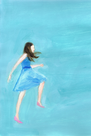 イラストレーター 3人展「アラベスク 少女めぐり」開催中