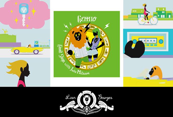 占いページでもお馴染みのイラストレーター、らいおんジョルジュの初アニメがリリース!