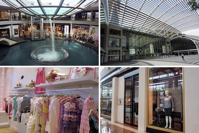 ハイブランドショップが立ち並ぶ最大級のショッピングモール