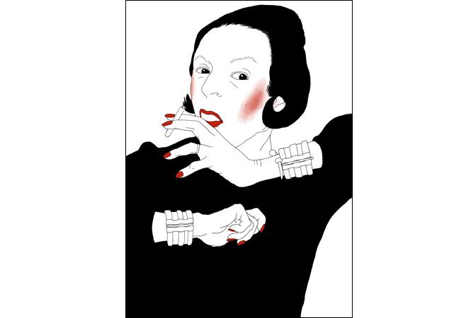 伝説のファッション・エディター、ダイアナ・ブリーランドを大特集