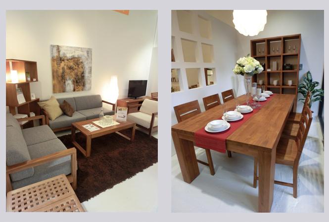 シンガポール発のチーク家具専門店「スキャンティーク」の京都店がオープン
