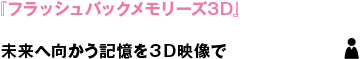 『フラッシュバックメモリーズ3D』