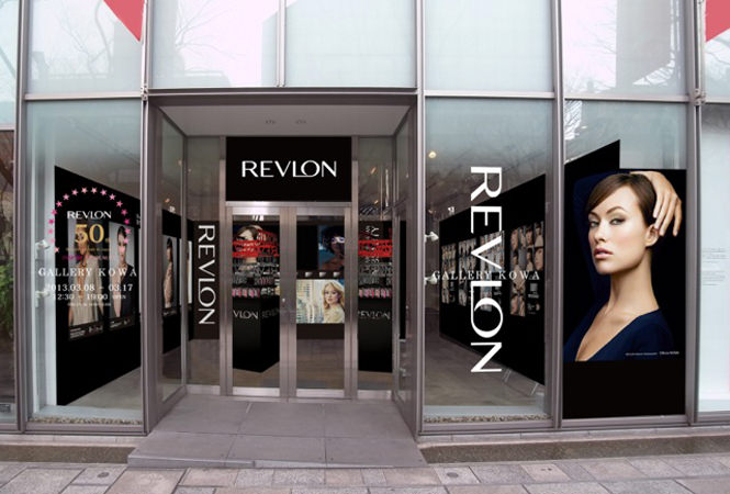 REVLON日本上陸50周年を記念して、期間限定ショップをオープン