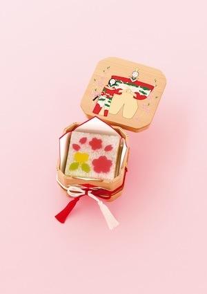 ひなまつりは愛くるしい和菓子でお祝いを!