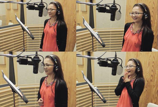 華原朋美、7年ぶりのレコーディングで感極まる