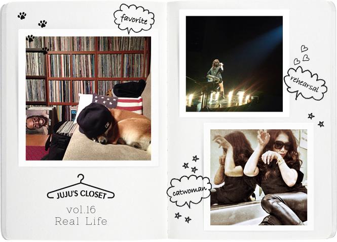 JUJU's クローゼット vol.16 プライベート写真日記