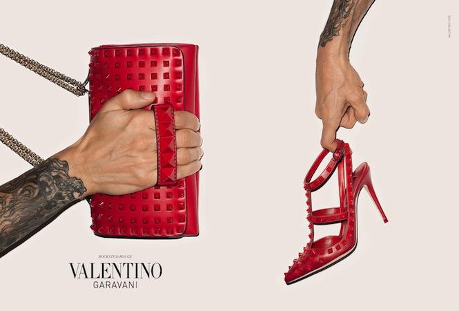 ヴァレンティノが初のアクセサリー広告キャンペーンにテリー・リチャードソンを起用