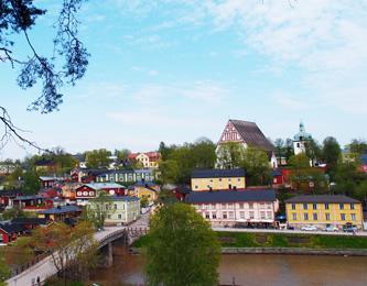 古き良き北欧の街並が残る街、ポルボーへ