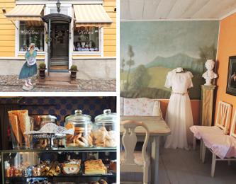 フィンランドとロシアを表現したレストランカフェ