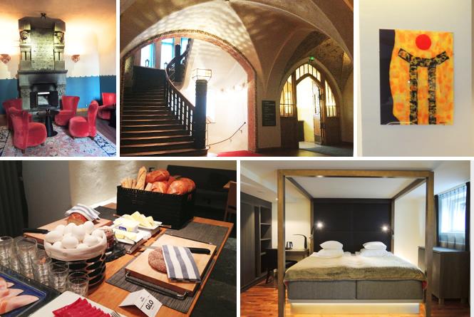 アールヌーボーの趣ある建物が魅力的なアートホテル、Glo