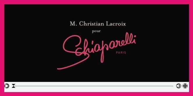 スキャパレリがクリスチャン・ラクロワを迎えたカプセルコレクションを発表