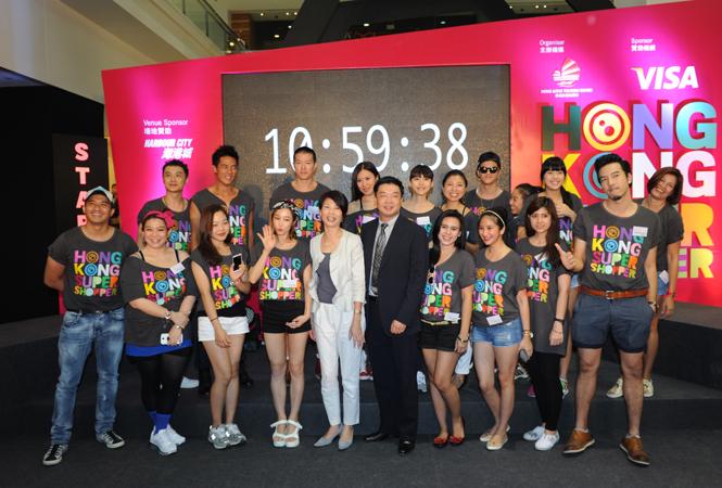 香港の名所を駆け抜ける! 『2013 Visa go 香港スーパー・ショッパー』に密着