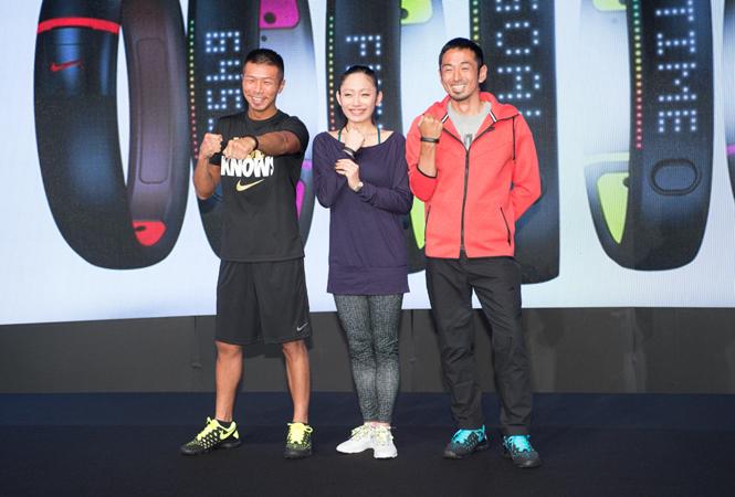 安藤美姫、為末大、内山高志が体験! 日本初上陸の新ガジェット『Nike+ FuelBand SE』