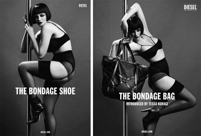 コンセプトは「Erotica」。DIESELのバッグ&シューズキャンペーンに注目!