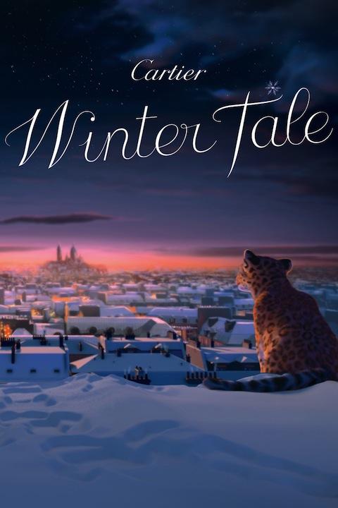 カルティエからクリスマスにぴったりなショートムービー『Winter Tale』が到着