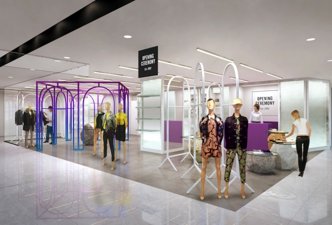 OPENING CEREMONYの新店舗が渋谷パルコ PART1にオープン!