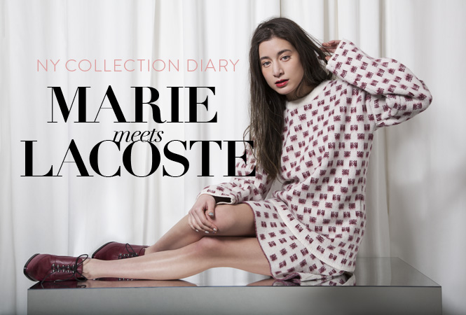 MARIE meets LACOSTE