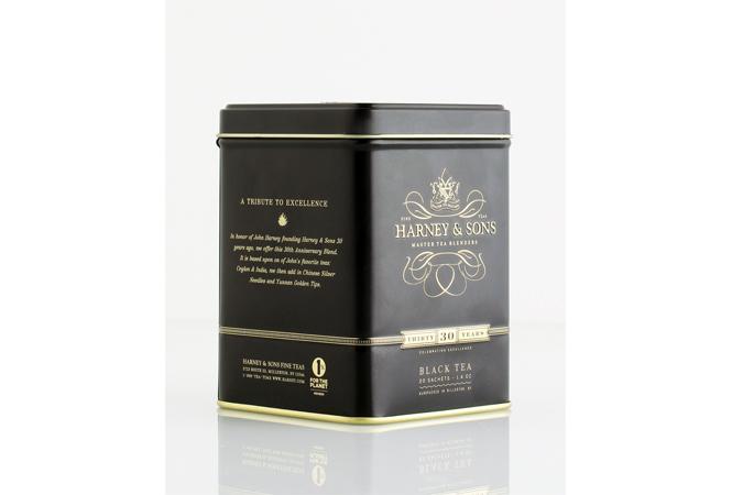 紅茶プレゼントも! ハーニー&サンズが30周年記念ブランドを発売