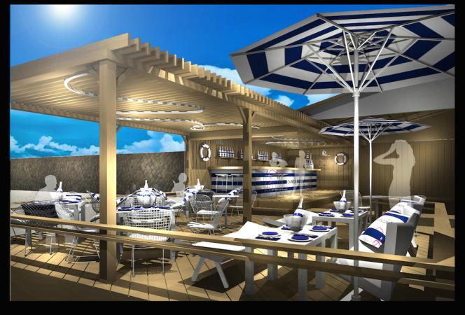 シャンドンが由比ガ浜海岸に「シャンドン サマー VIP ラウンジ」を期間限定オープン