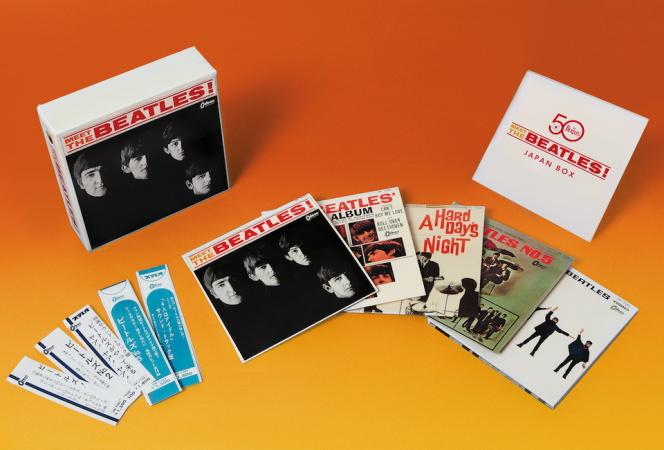 ザ・ビートルズの日本レコード・デビュー50周年を記念したBOXセットが発売中。