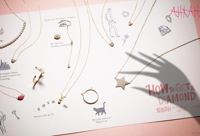 AHKAHがダイヤモンドいっぱいの2014年秋冬コレクション発売