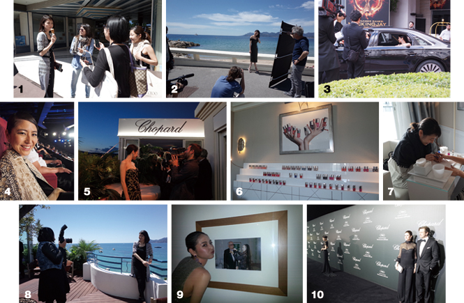 Cannes debut reportage