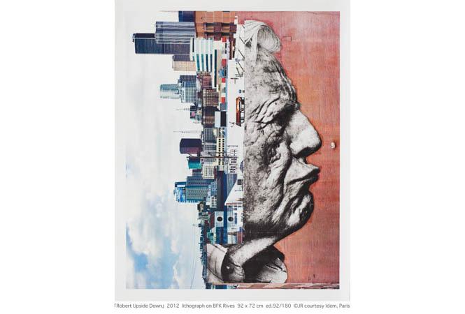 街中をキャンバスに社会的な問題を暴くアーティスト・JRのリトグラフ展