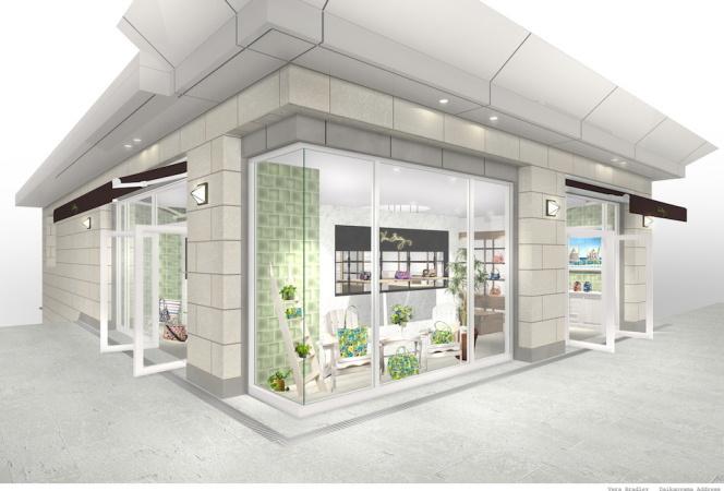 ヴェラ・ブラッドリーの初の旗艦店がオープン!玉川高島屋S・C店にも初出店