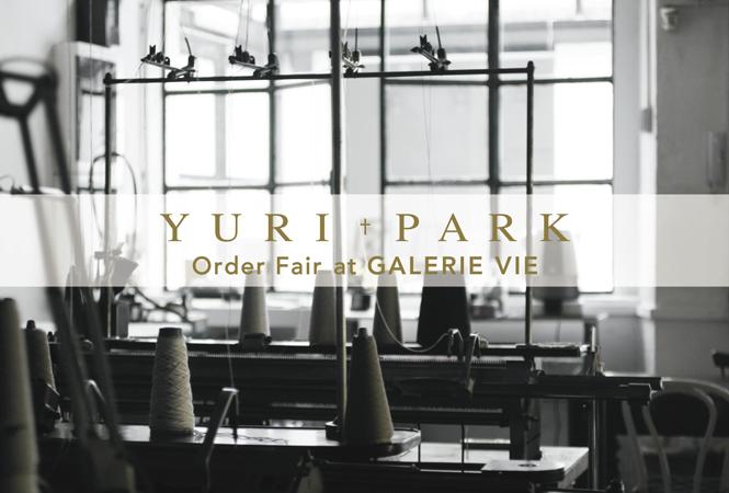 ギャルリー・ヴィー 自由が丘店でYURI+PARKのニットオーダー会を開催