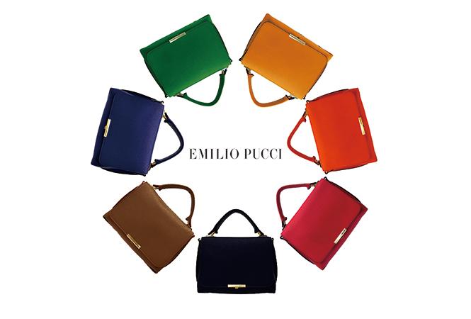 エミリオ・プッチが新作バッグを含めたポップアップストアをオープン
