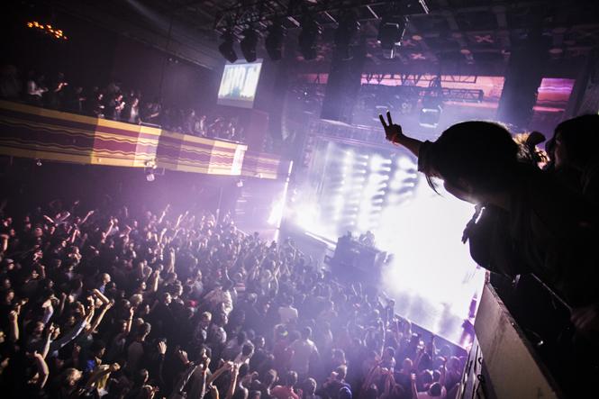2011年、マドリッドでのパーティ風景 © Thomas Butler / Red Bull Content Pool
