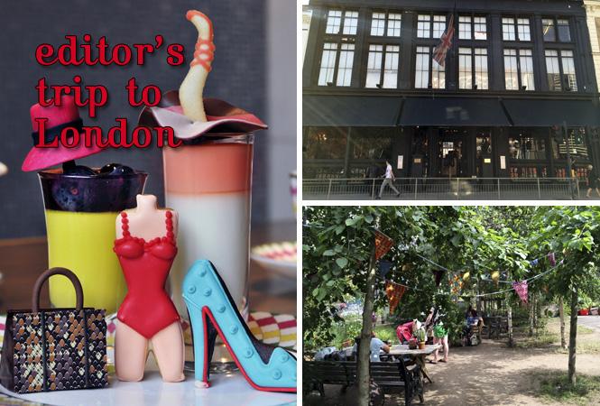 進化するファッション&アートの街、ロンドンへ