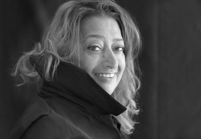 ザハ・ハディド Photo:Brigitte Lacombe © Zaha Hadid Architects