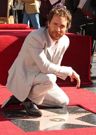 マシュー・マコノヒー、ハリウッドの殿堂入り!