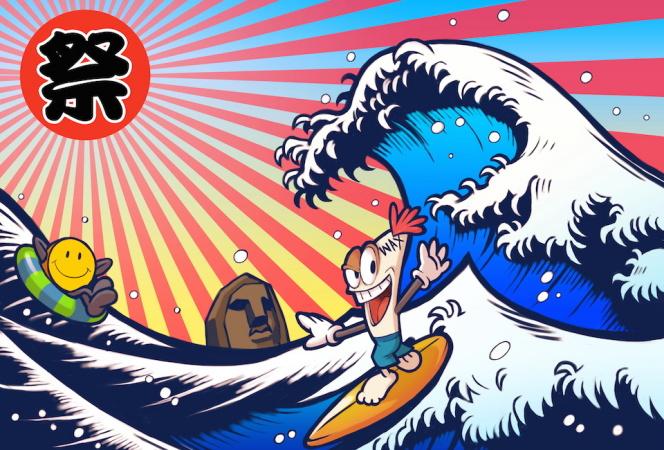 祝10周年! WAXとジャクソンマティスがジャンルの垣根を越えて「祭」を開催