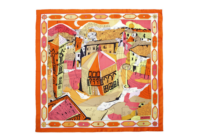 エミリオ・プッチから世界6都市をモチーフにしたスカーフコレクション発売
